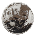 2018 Marvel Black Panther 1oz Silver Coin