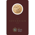 2018 India Mint Mark Sovereign Gold Coin in Certicard