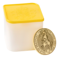 10x 1oz Gold Yale of  Beaufort (Queen's Beasts Collection) in Tube