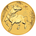 2021 1/10oz Lunar III Ox Gold Coin - Perth Mint
