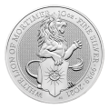 Watch 2021 10oz White Lion of Mortimer Silver Coin | Queen's Beasts Collection YouTube Video