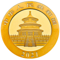 2021 30g Panda Gold Coin | China