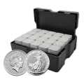 15.5kg Silver Britannia 2021 Monster Box by Royal Mint (500 Coins) | Special Offer