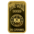 20g Gold Bar - Emirates Gold Blister Pack