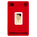 5g Gold Bar - Emirates Gold Certicard