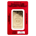 50g Gold Bar - Emirates Gold Certicard