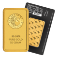 50g Gold Bar - Perth Mint Black Certicard