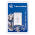 Emirates 5 gram Boxed Silver Bar