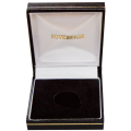 Black Luxury Gift Box for a Gold Sovereign coin