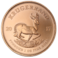2017 Gold Krugerrand in Luxury Presentation Box