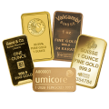 1 Ounce Gold Bars - Investment Market