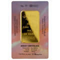 100g Gold Bar - Valcambi Boxed Certified