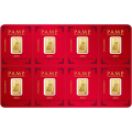 2018  8 x 1 Gram Gold Bar Multipack - PAMP Lunar Dog