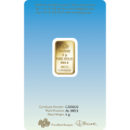 PAMP 'Faith' Romanesque Cross 5 Gram Gold Bar