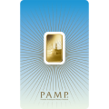 PAMP 'Faith' Ka 'Bah Mecca 5 Gram Gold Bar