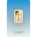 PAMP 'Faith' Romanesque Cross 10 Gram Gold Bar.