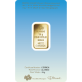10g Gold Bar.| PAMP 'Faith' Romanesque Cross