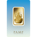 PAMP 'Faith' Lakshmi 1 Ounce Gold Bar