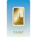 PAMP 'Faith' Ka ' Bah Mecca 1 Ounce Gold Bar