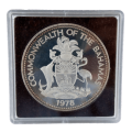 1978 Commonwealth of The Bahamas $10 Silver Proof Coin