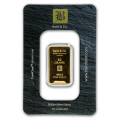 10g Gold Bar - Baird & Co Minted Certicard