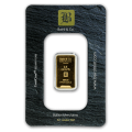 2.5g Gold Bar - Baird & Co Minted Certicard