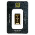 5g Gold Bar - Baird & Co Minted Certicard