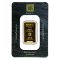 1/2oz Gold Bar - Baird & Co Minted Certicard