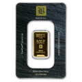 1/4oz Gold Bar - Baird & Co Minted Certicard