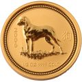 2006 1/2oz Dog Australian Gold Coin