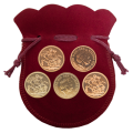 Investment Bundle - 5 x Queen Elizabeth II Gold Sovereigns