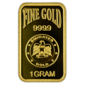 1g Gold Bar - Emirates Gold Blister Pack