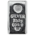 Emirates 250 Gram Cast Silver Bar