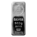 Emirates 500 Gram Cast Silver Bar
