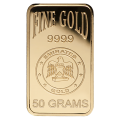50g Gold Bar - Emirates Gold Blister Pack