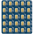 PAMP Suisse 25 x 1 Gram Fortuna Multigram Gold Bars