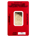 1/2oz Gold Bar - Emirates Gold Certicard