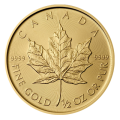 2017 1/2 Maple Leaf Gold Coin
