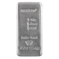 Metalor 1kg Silver Bar