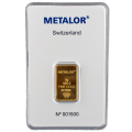 5g Gold Bar - Metalor Minted Certified
