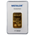 Metalor 1oz Gold Bar (Pre-Owned)