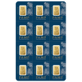 PAMP Suisse 12 x 1 Gram Fortuna Multigram Gold Bars