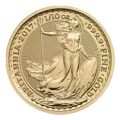 2017 1/10th Gold Britannia Coin