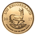 2017 1/10th Gold Krugerrand Coin