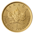 2017 1/10th Maple Leaf Gold Coin