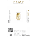PAMP 1 Gram Fortuna Gold Bar