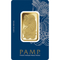 1oz Gold Bar - PAMP Suisse Lady Fortuna Veriscan Certicard