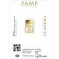 PAMP 2.5 Gram Fortuna Gold Bar