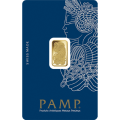 2.5g Gold Bar - PAMP Suisse Lady Fortuna Veriscan Certicard
