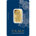 20g Gold Bar - PAMP Suisse Lady Fortuna Veriscan Certicard